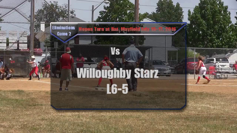 Eliminations Game 2 vs Willoughby Starz L6-5