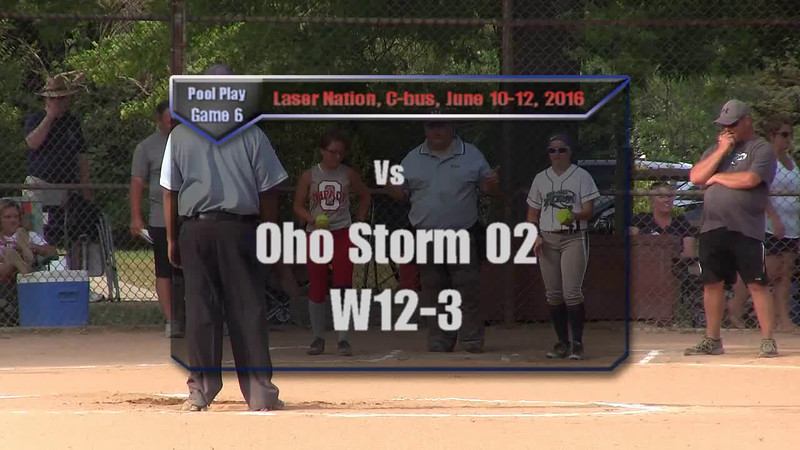 Pool Play Game 6 vs Ohio Storm W12-3