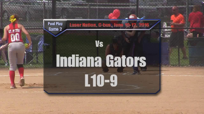 Pool Play Game 2 vs Indiana Gators L10-9