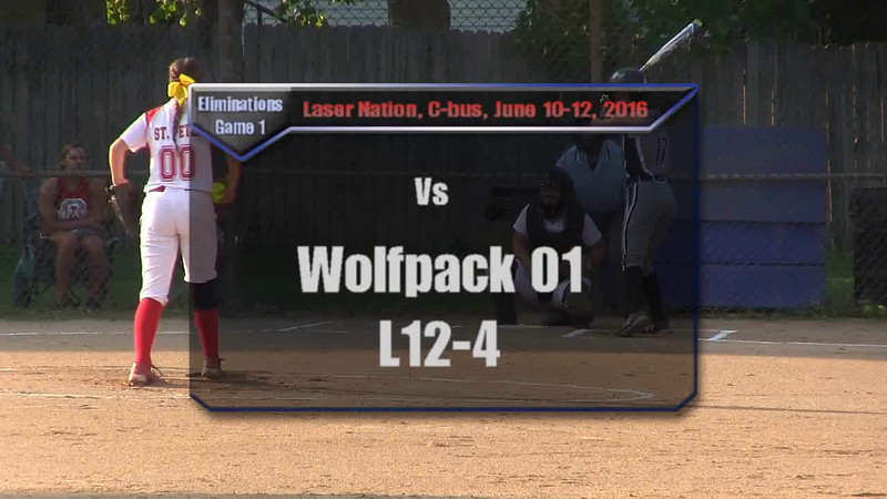 Eliminations Game 1 vs Wolfpack 01 L12-4
