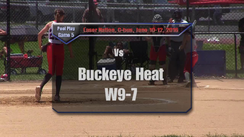 Pool Play Game 5 vs Buckeye Heat W9-7