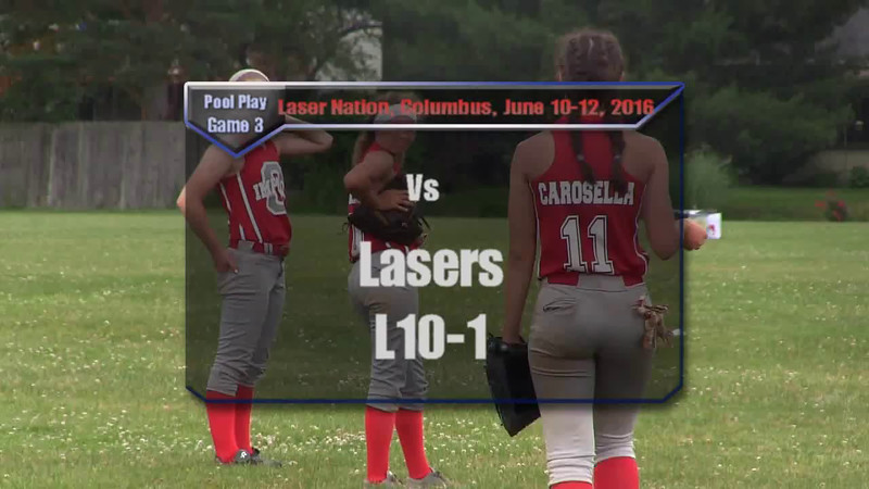 Pool Play Game 3 vs Lasers W10-1