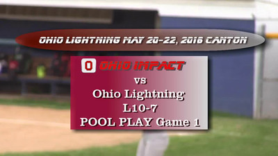 Pool Play Game 1 vs Ohio Lightning