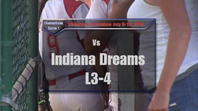 Elimination Game 1 vs Indiana Dreams L3-4