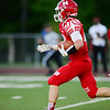 Neshannock's Danny Welker runs the ball in for a touchdown.