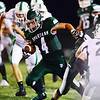 Laurel's Jesse Pacifico runs the ball.