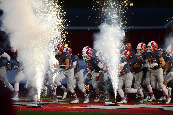 The Lancers enter the field.