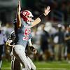 Neshannock celebrates a touchdown in the first half.