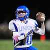 Union's Evan Pinkerton looks to pass.