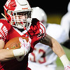 Neshannock's Sean Doran runs the ball 75 yards.