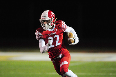 Neshannock's Chris Scott runs the ball.
