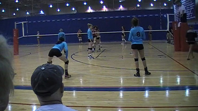 Game 1 v . Volleytech Academy