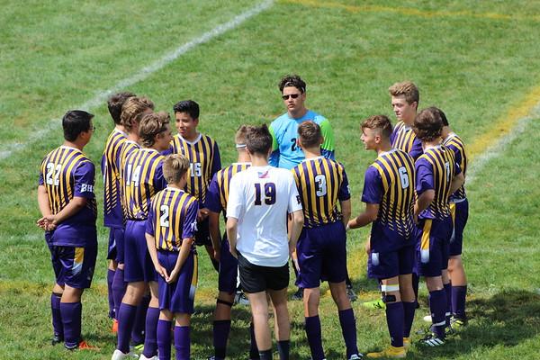 '18 Berkshire Boys' Soccer vs Garfield Heights