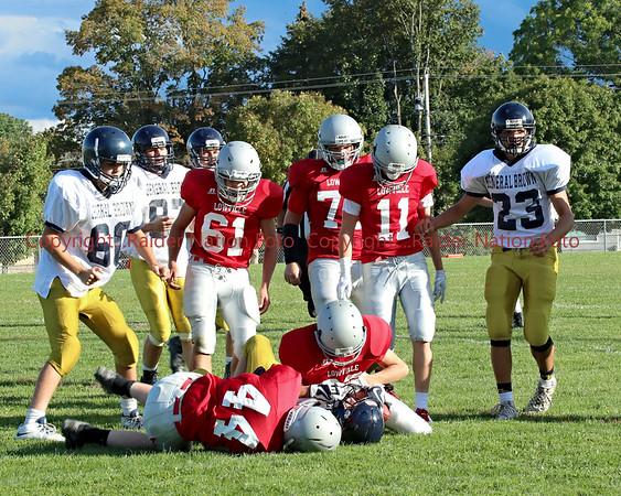 18 JV Football vs General Brown