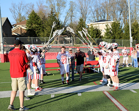 18 V Lacrosse vs Carthage Senior Night
