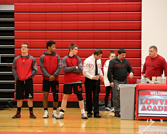 18 V Wrestling vs SL-Senior Night