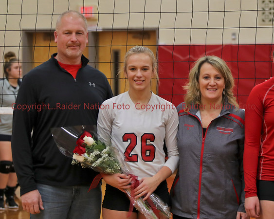 18 Vars VB Senior Night vs General Brown