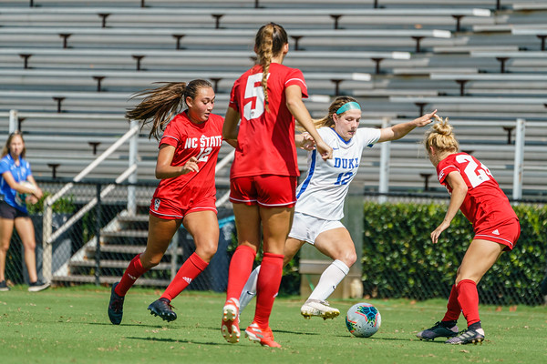 190922 Duke vs NCSU Women's Soccer 1443
