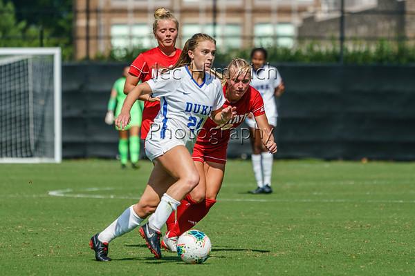 190922 Duke vs NCSU Women's Soccer 1428