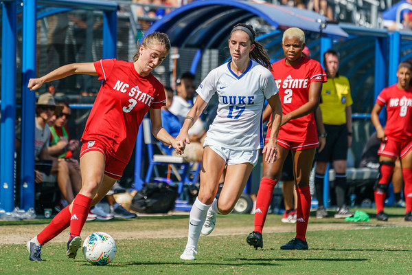 190922 Duke vs NCSU Women's Soccer 1454
