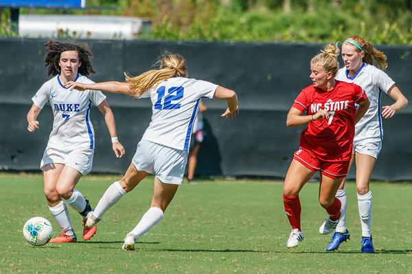190922 Duke vs NCSU Women's Soccer 1449