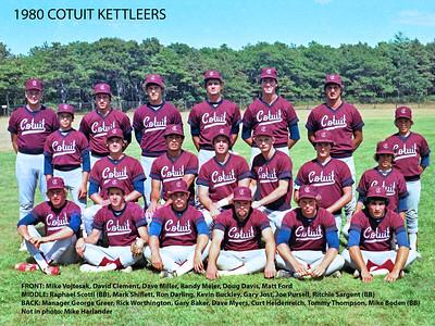 1980 Team Photos