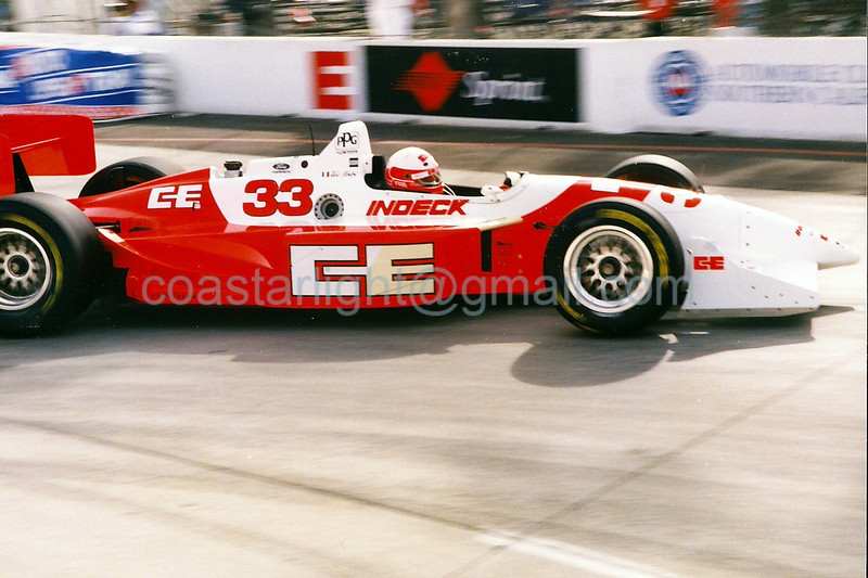 Teo Fabi - 1995 Long Beach GP, hairpin