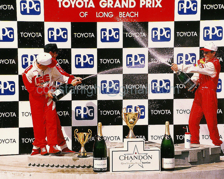 1995 Long Beach GP top 3