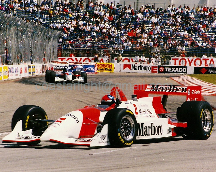 Emerson Fittipaldi, Robby Gordon - 1995 Long Beach GP