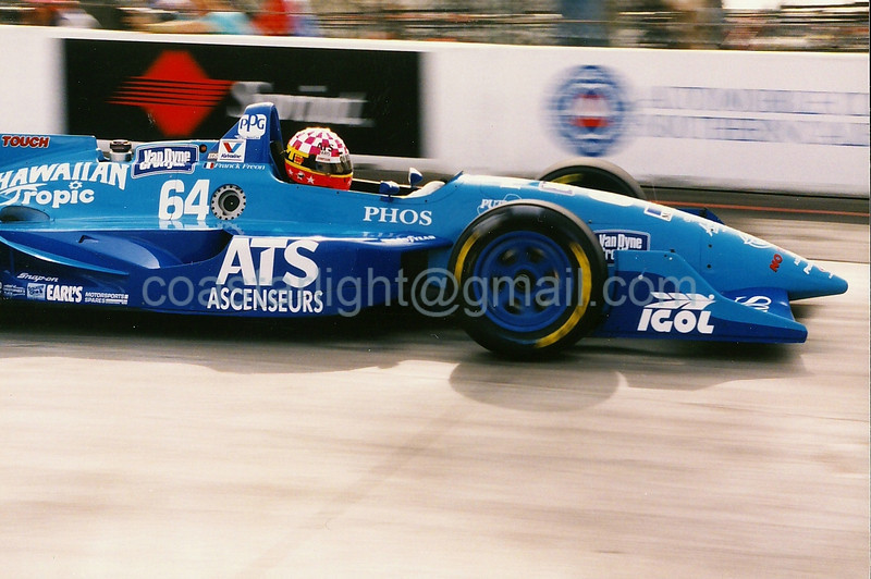 Franck Freon - 1995 Long Beach GP, hairpin