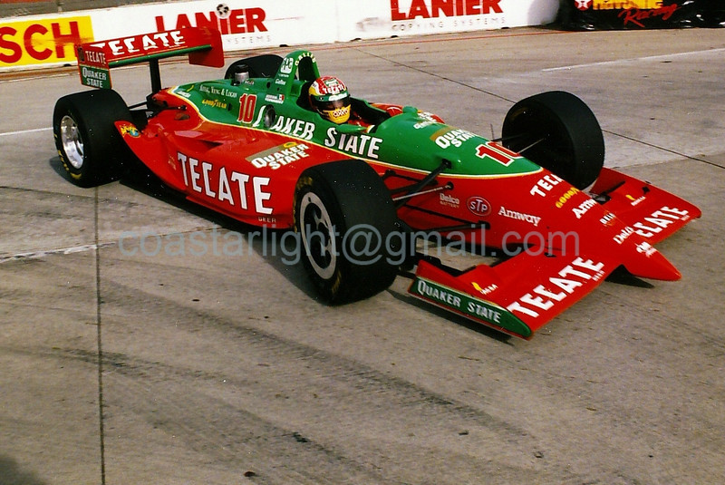 Adrian Fernandez - 1995 Long Beach Grand Prix, hairpin