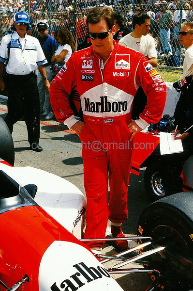 Al Unser Jr. - 1995 Long Beach GP