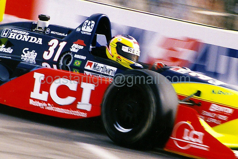 Andre Ribeiro - 1995 Long Beach Grand Prix, hairpin