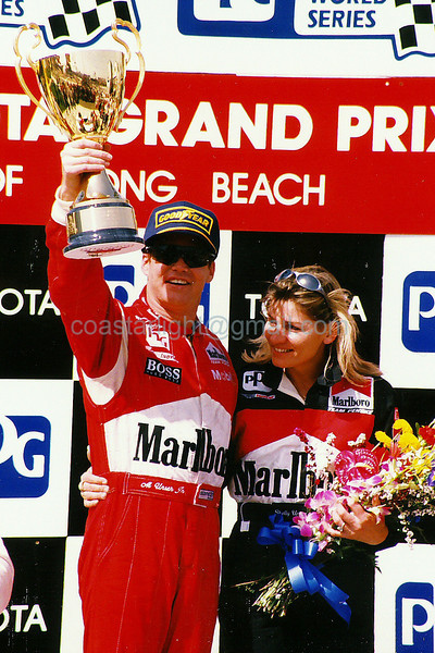 Al Unser Jr. - 1995 Long Beach GP winner