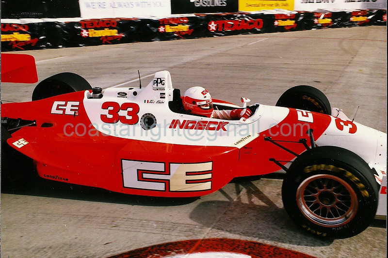 Teo Fabi - 1995 Long Beach Grand Prix, hairpin