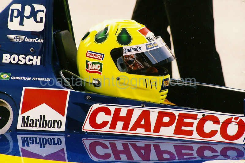 Christian Fittipaldi - 1995 Long Beach GP