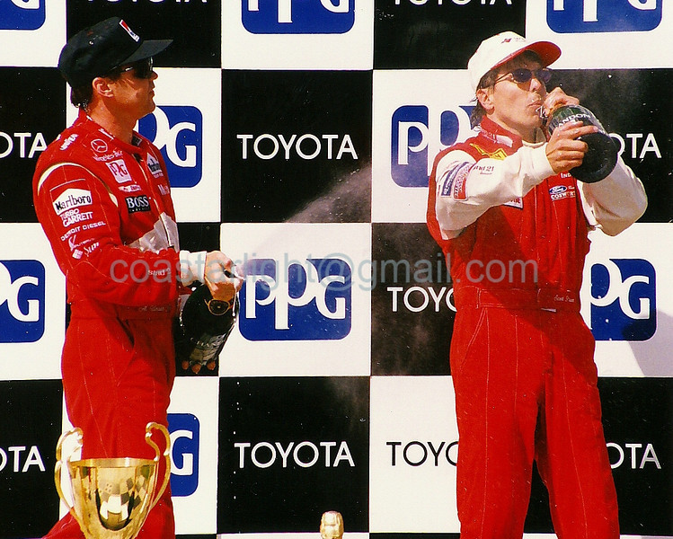Al Unser Jr., Scott Pruett - 1995 Long Beach GP