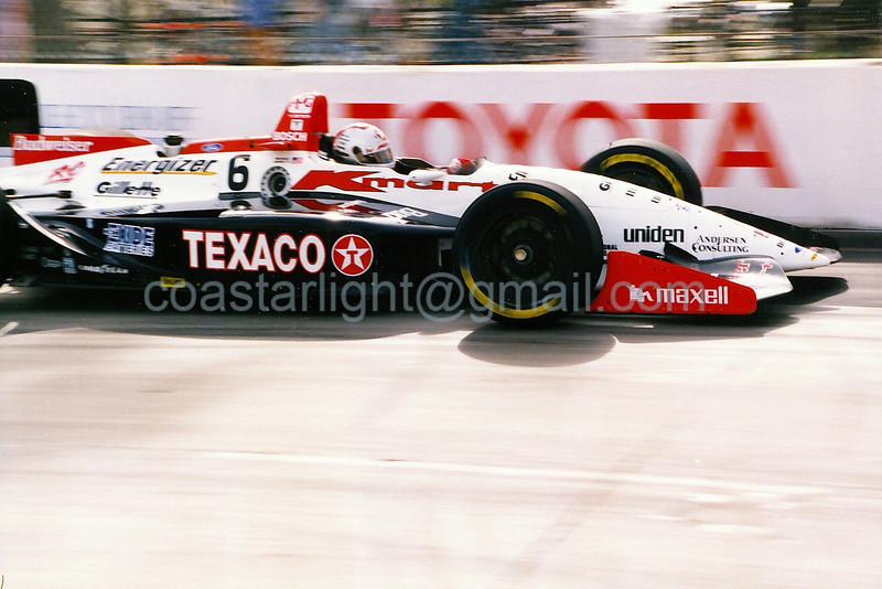 Michael Andretti - Long Beach GP, hairpin