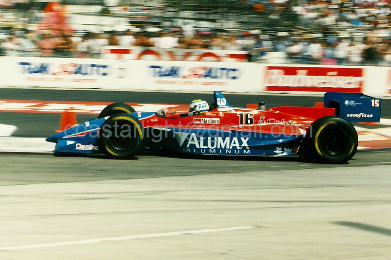Stefan Johansson - 1995 Long Beach GP