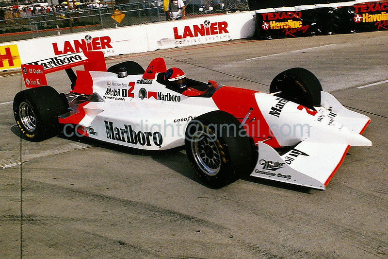 Emerson Fittipaldi - 1995 Long Beach Grand Prix, hairpin