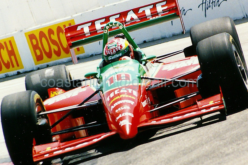 Adrian Fernandez - 1995 Long Beach Grand Prix, turn 4