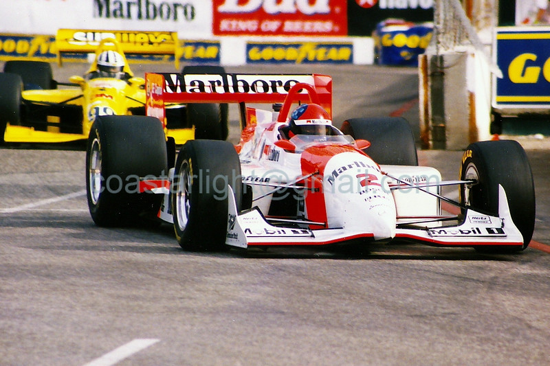 Emerson Fittipaldi - 1995 Long Beach Grand Prix, turn 10