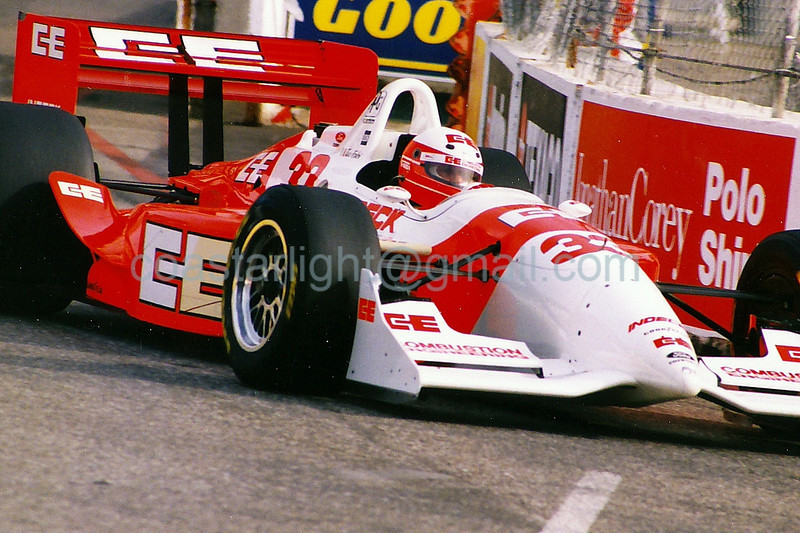 Teo Fabi - 1995 Long Beach Grand Prix, turn 10
