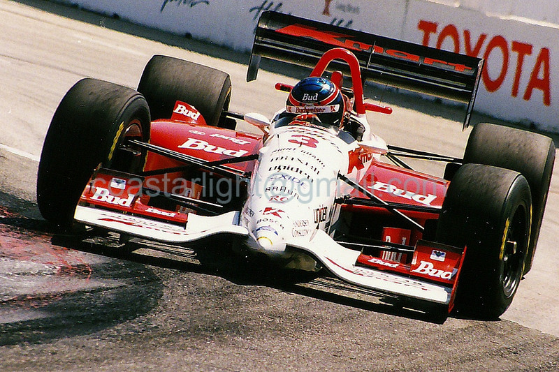 Paul Tracy - 1995 Long Beach Grand Prix, turn 4