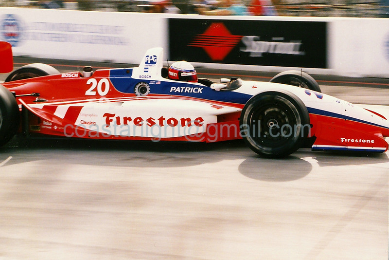 Scott Pruett - 1995 Long Beach GP, hairpin