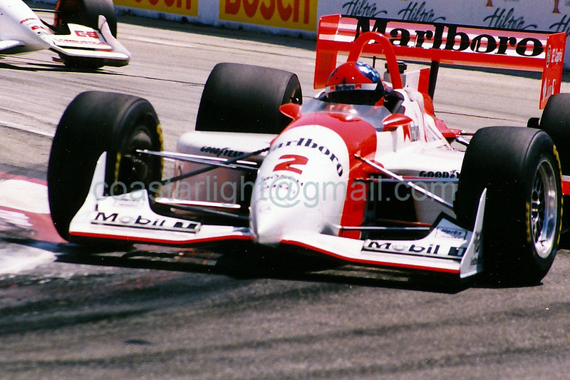 Emerson Fittipaldi - 1995 Long Beach Grand Prix, Turn 4