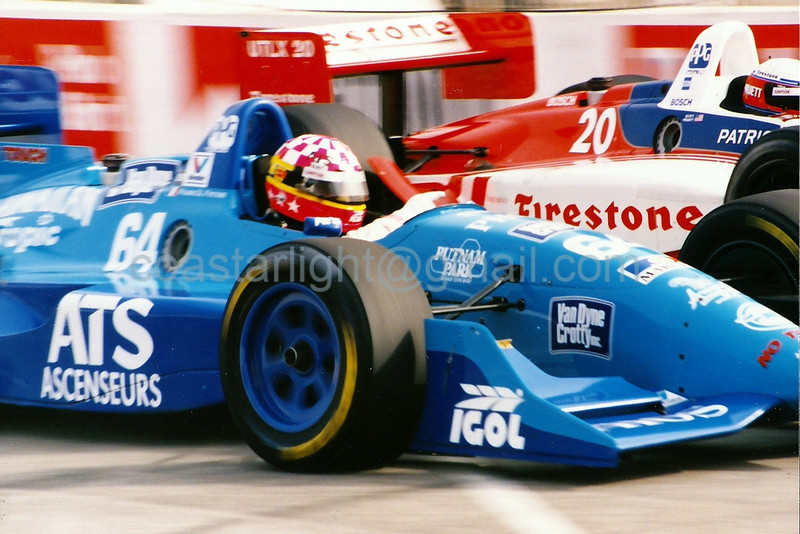 Franck Freon, Scott Pruett - 1995 Long Beach GP