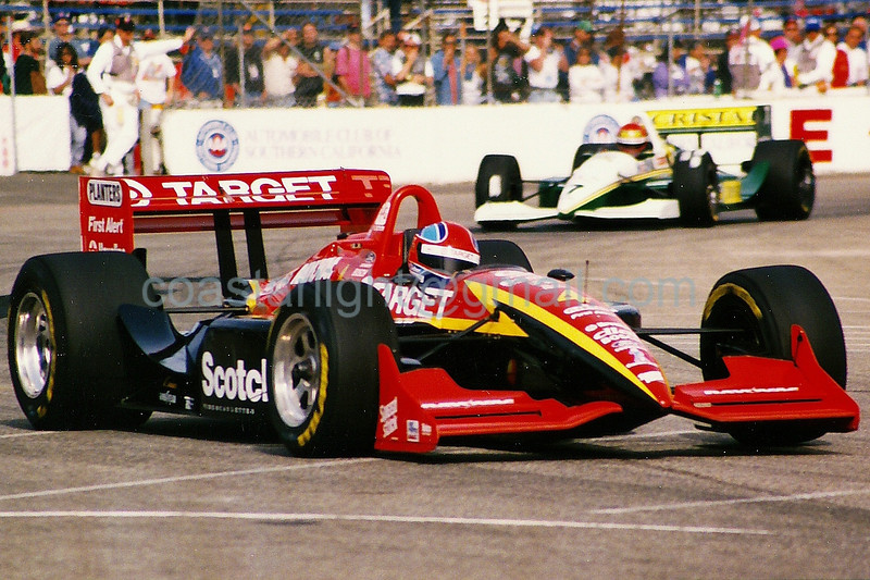 Bryan Herta, Eliseo Salazar - 1995 Long Beach GP