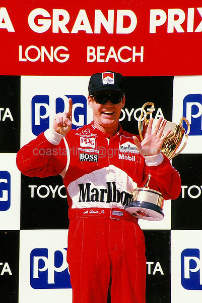 Al Unser Jr. 6 time winner - 1995 Long Beach Grand Prix