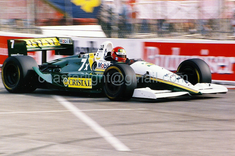 Eliseo Salazar - 1995 Long Beach GP, hairpin